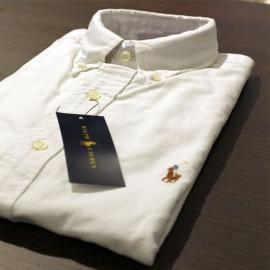 Chemise Ralph Lauren blanche - Regular - Coton Oxford