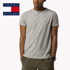 T-shirt Tommy Hilfiger gris chiné