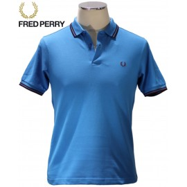 Polo homme manches courtes piquées fred perry marque
