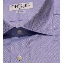 Chemise Officiel Boutique slim manches longues coton