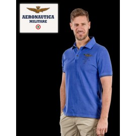Polo Aeronautica militare homme manches courtes 100% coton